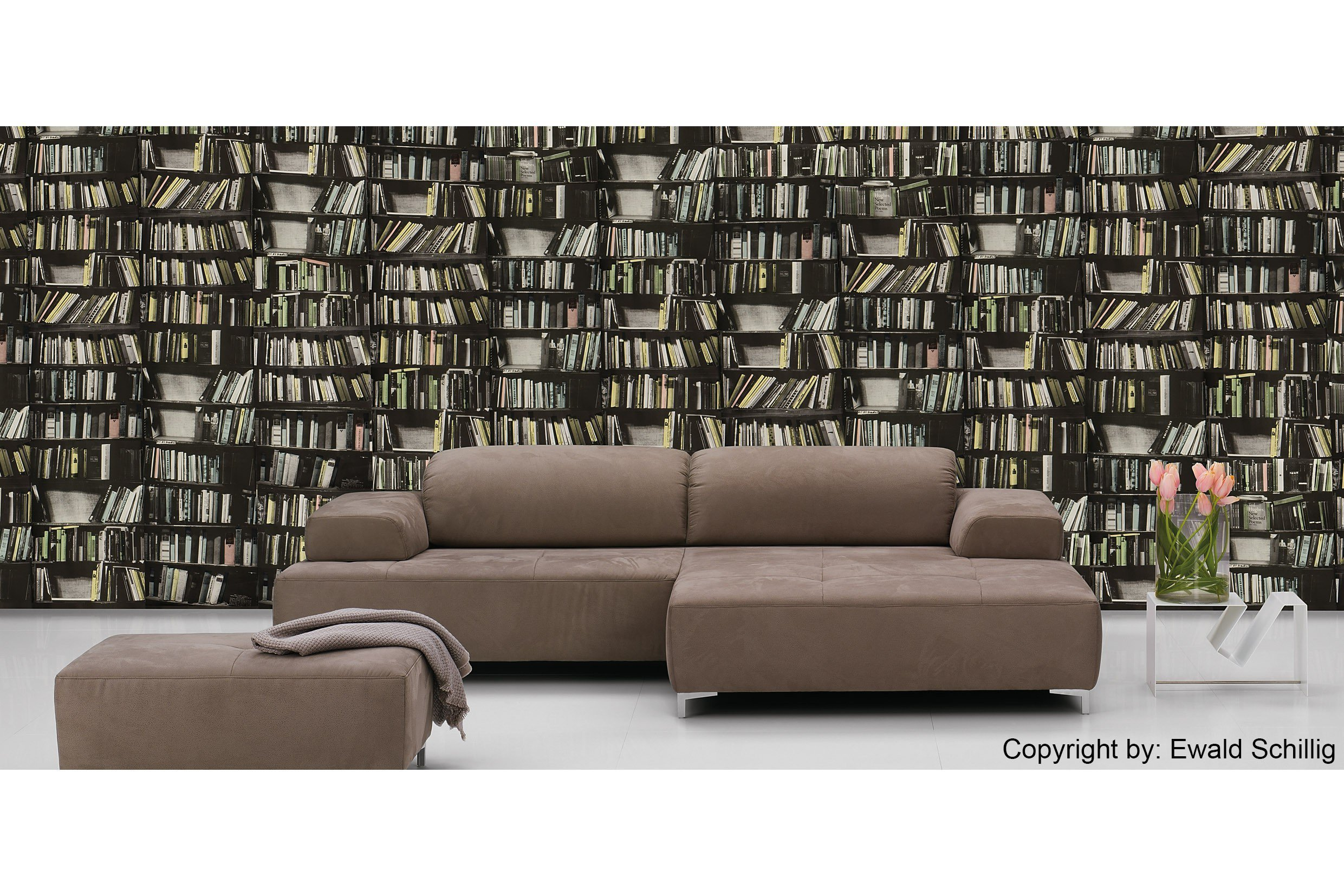 ewald schillig mega ecksofa in braun m bel letz ihr online shop. Black Bedroom Furniture Sets. Home Design Ideas
