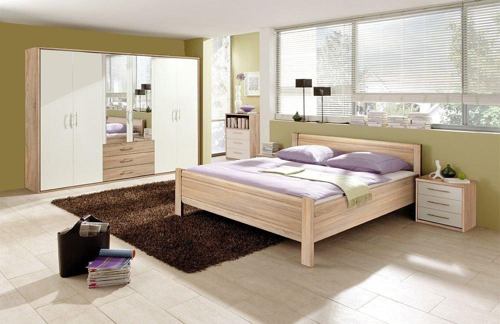 Schlafwelten Von Priess   Schlafzimmer Sonoma Eiche Lichtweiß