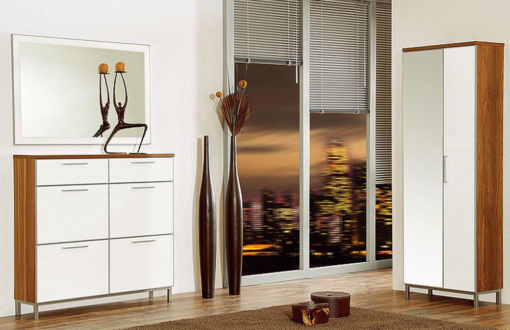 garderobe santana set 6 nussbaum optiwei von voss m bel m bel letz ihr online shop. Black Bedroom Furniture Sets. Home Design Ideas