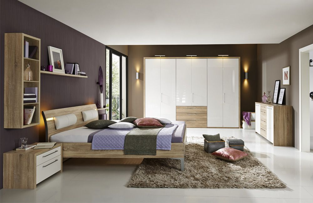 schlafzimmer eiche rustikal ihr traumhaus ideen. Black Bedroom Furniture Sets. Home Design Ideas