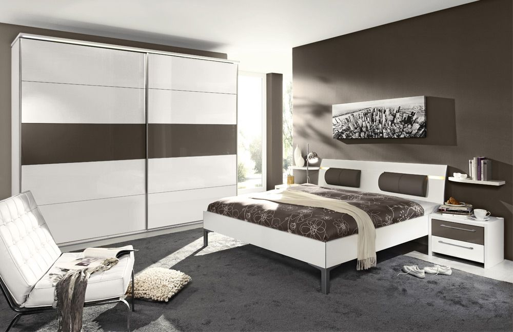 schlafzimmer wei grau. Black Bedroom Furniture Sets. Home Design Ideas