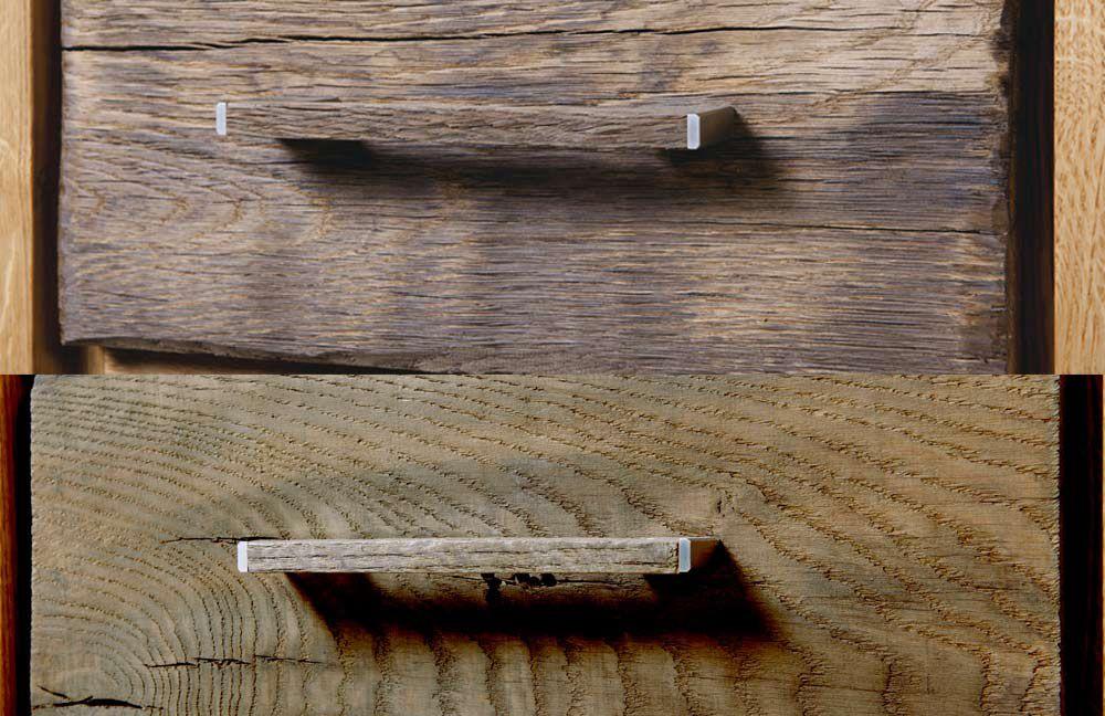Virginia altholz von henke m bel wohnwand wildeiche altholz for Wohnzimmertisch voglauer