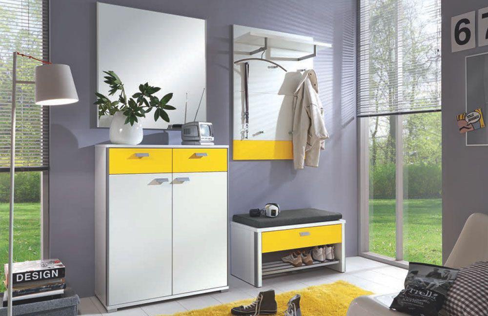 Garderobenpaneel gelb bestseller shop f r m bel und for Garderobenpaneel shop