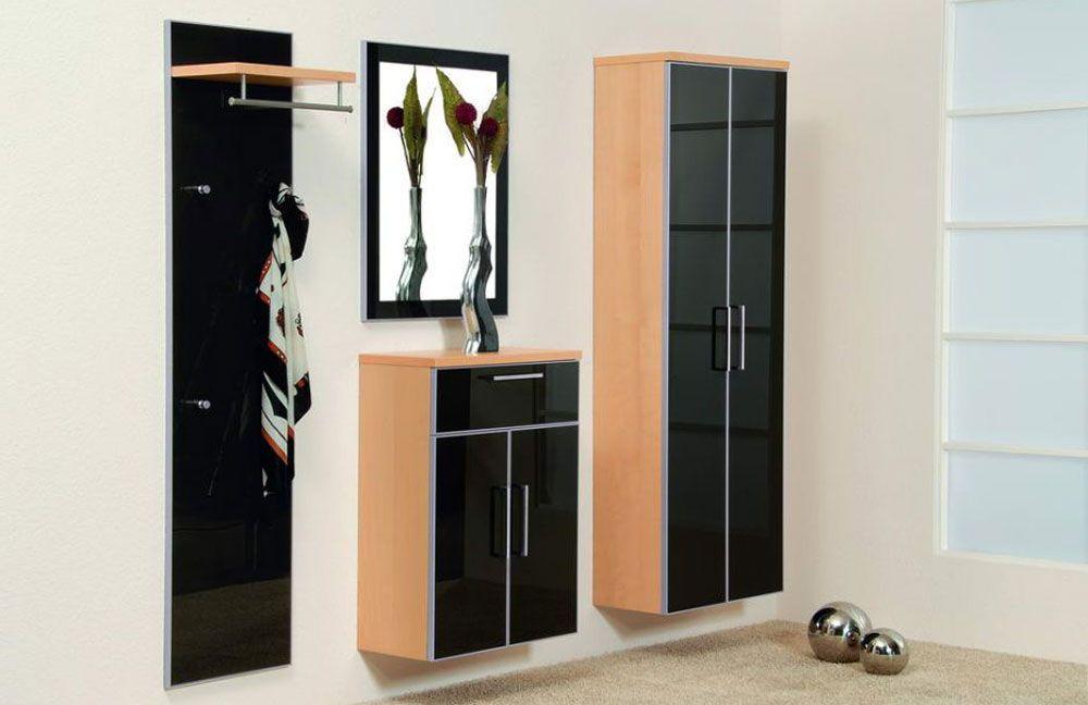 garderobe ventura set 5 ahorn anthrazit von voss m bel letz ihr online shop. Black Bedroom Furniture Sets. Home Design Ideas
