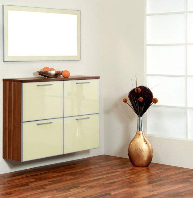 ventura von voss garderobe set 3 nussbaum elfenbein dielenm bel und flurm bel online kaufen. Black Bedroom Furniture Sets. Home Design Ideas