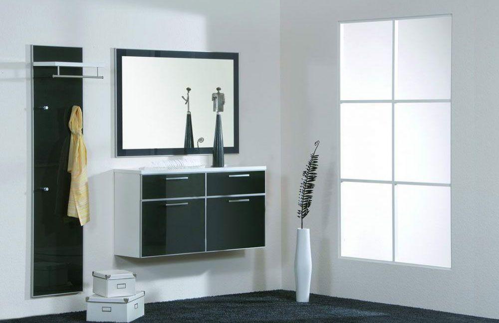 garderobe ventura set 7 anthrazit wei von voss m bel m bel letz ihr online shop. Black Bedroom Furniture Sets. Home Design Ideas