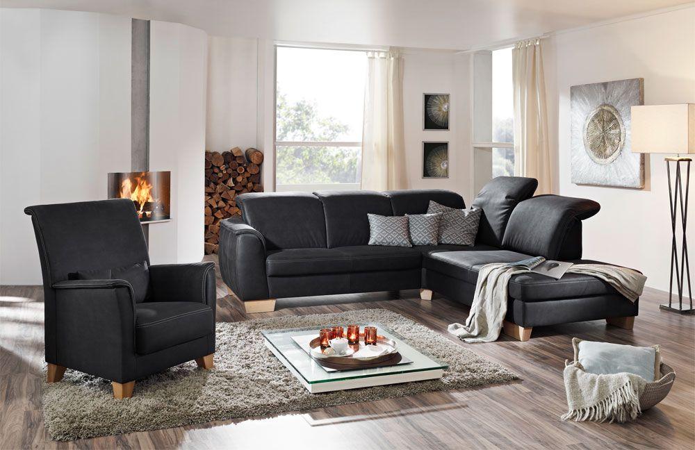 ponsel cambridge polstergarnitur anthrazit m bel letz ihr online shop. Black Bedroom Furniture Sets. Home Design Ideas