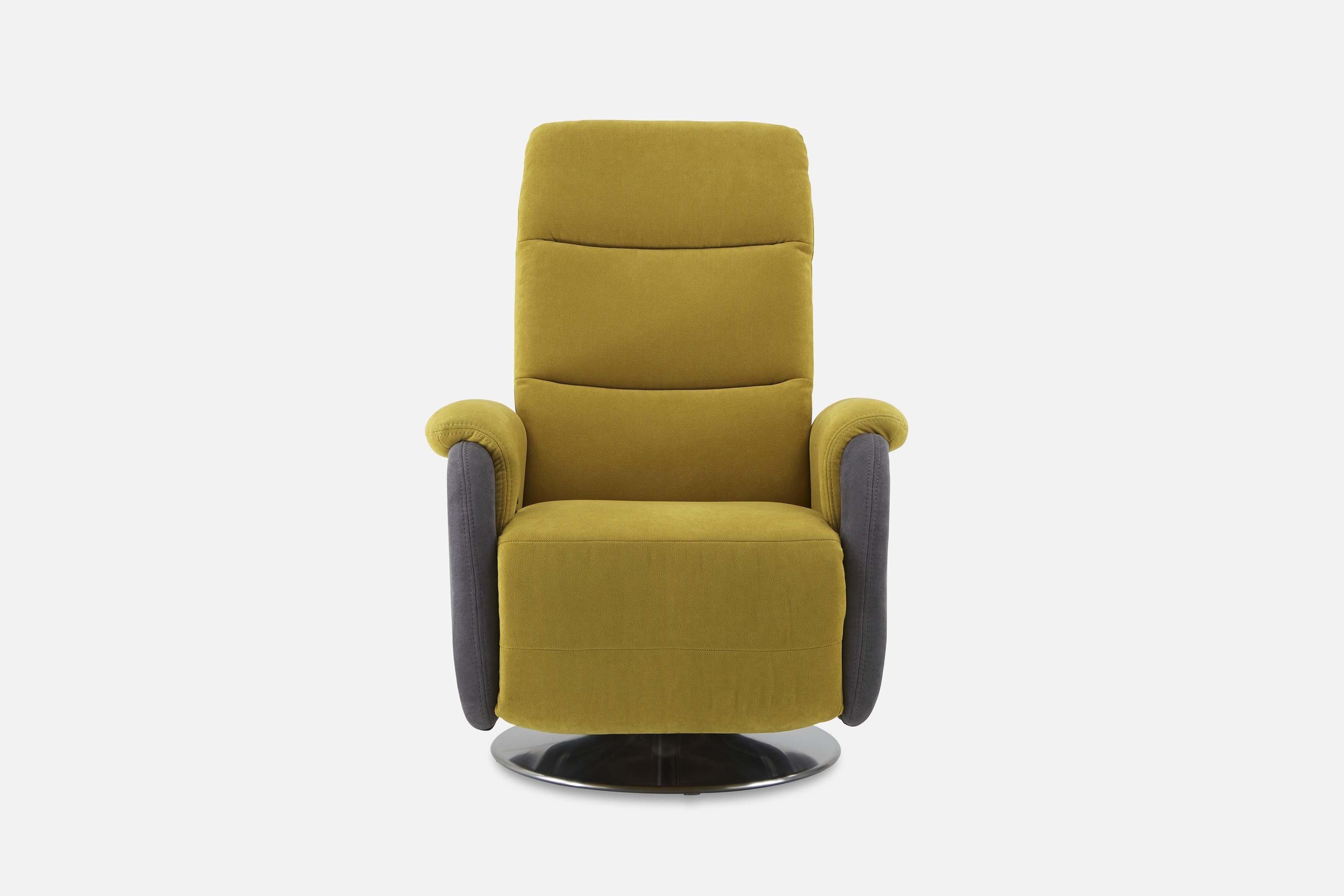 sessel megaline gelb-grau von megapol | möbel letz - ihr online-shop, Wohnzimmer