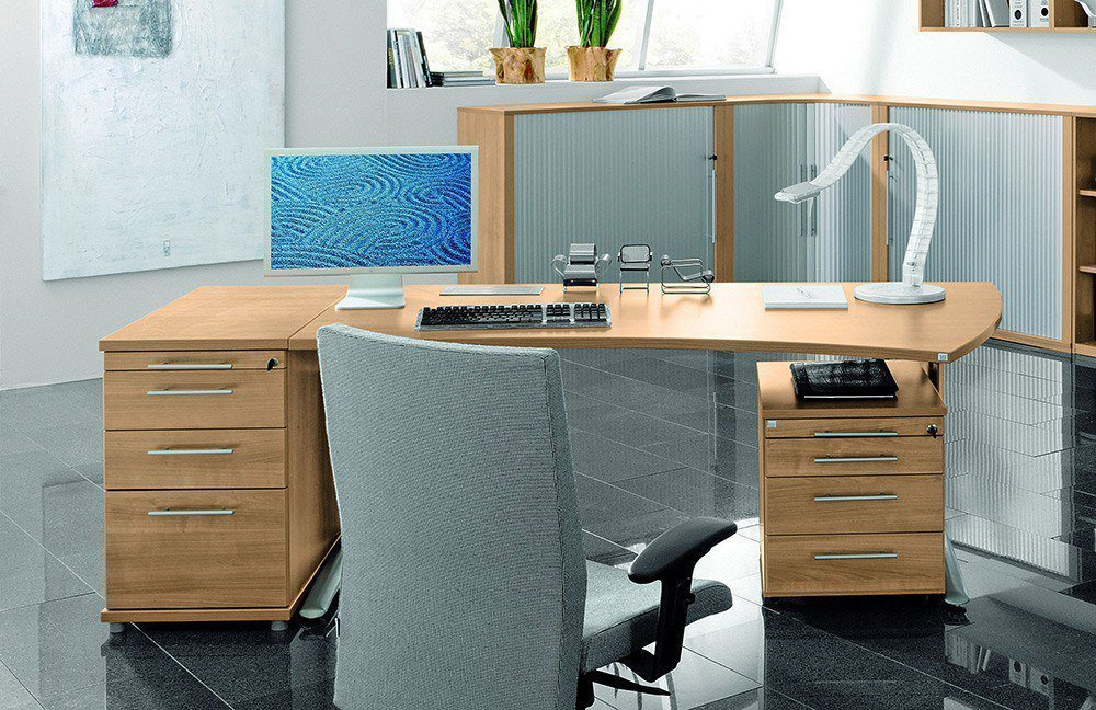 Röhr Techno Schreibtisch Kirschbaum   Möbel Letz - Ihr Online-Shop