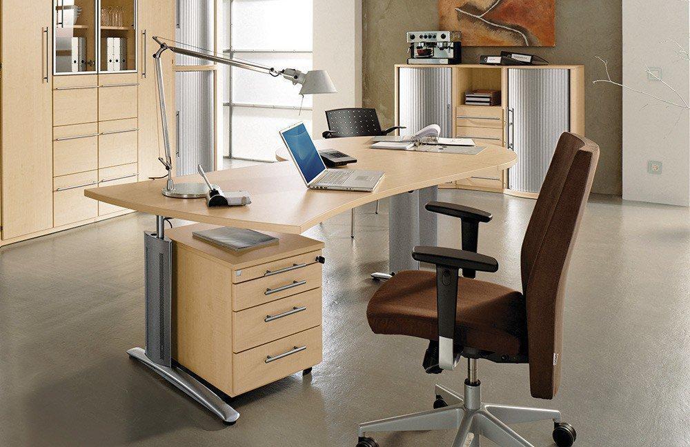 Röhr Techno Schreibtisch Ahorn | Möbel Letz - Ihr Online-Shop