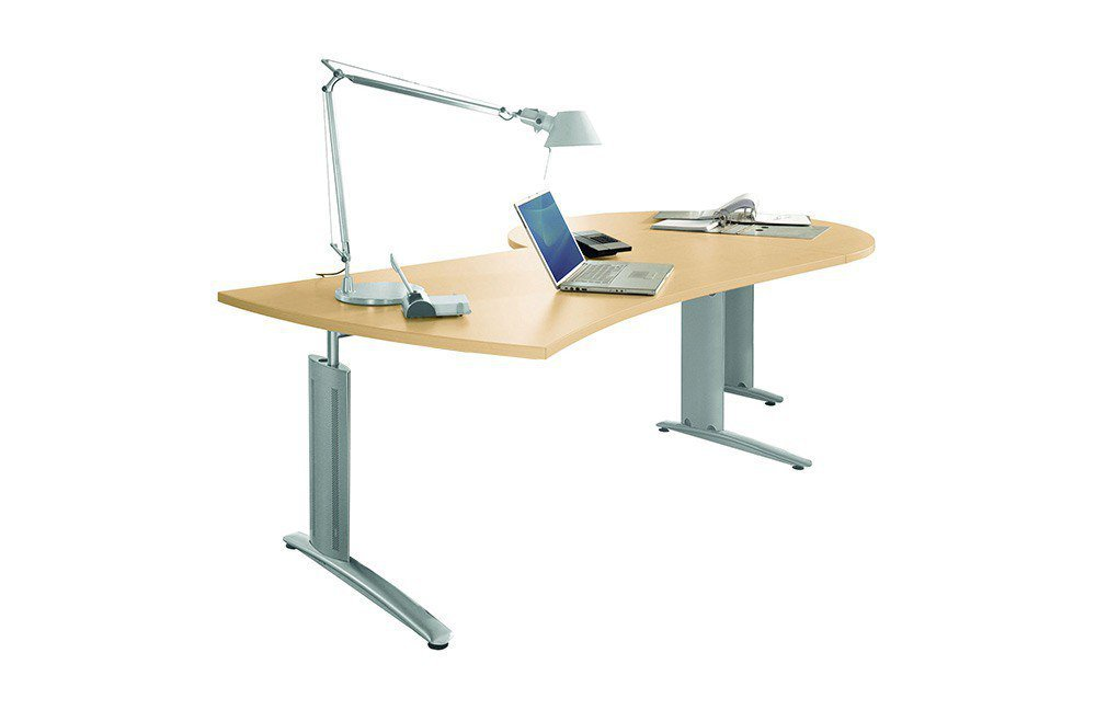 Röhr Techno Schreibtisch Ahorn   Möbel Letz - Ihr Online-Shop