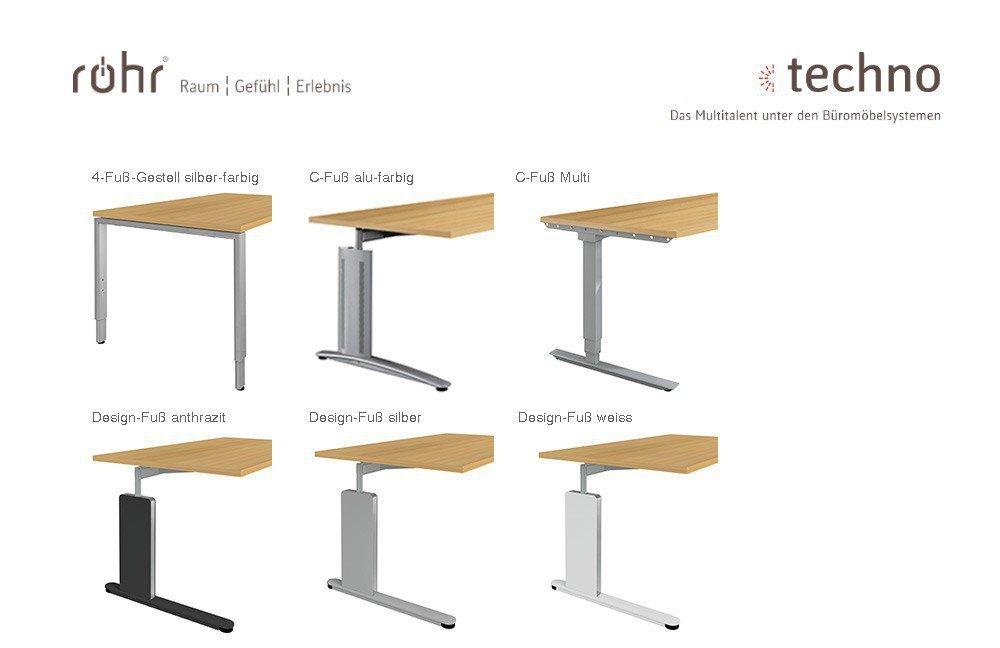 Röhr-Bush Techno Büromöbel Kirschbaum | Möbel Letz - Ihr Online-Shop
