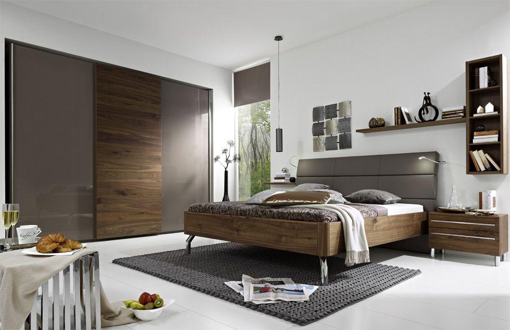 Fesselnd Cadeo Von Loddenkemper   Schlafzimmer Cubanit/ Kernnuss