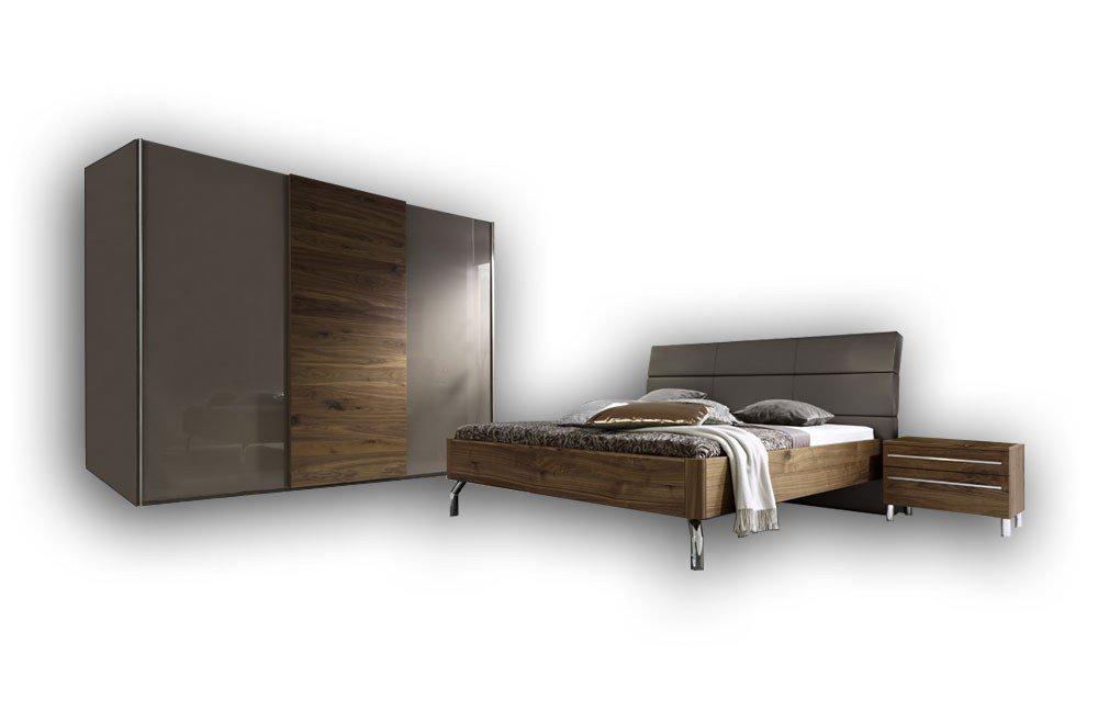 Cadeo Von Loddenkemper   Schlafzimmer Cubanit/ Kernnuss