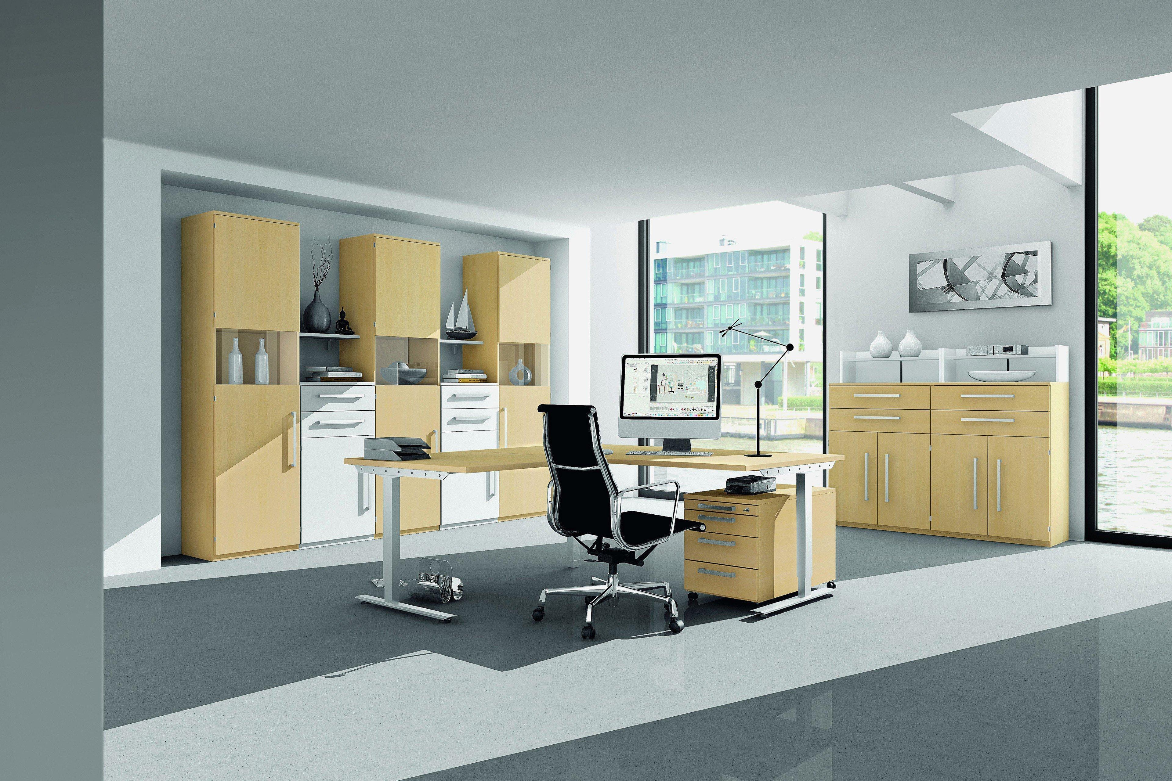 r hr bush techno eck schreibtisch m bel letz ihr online shop. Black Bedroom Furniture Sets. Home Design Ideas