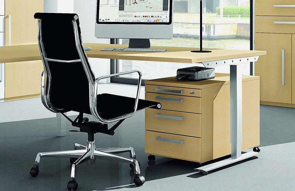 Röhr-Bush Techno Eck-Schreibtisch | Möbel Letz - Ihr Online-Shop