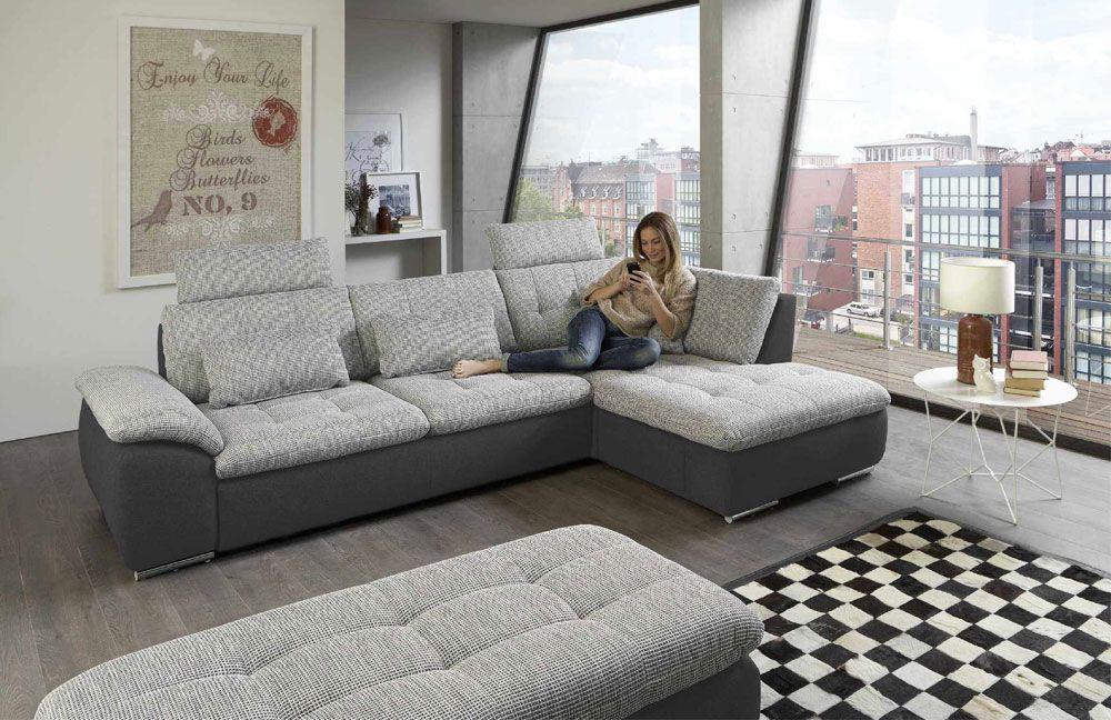Megapol Flip / Fiona / Fancy / Funny / Future Sofa alu-grau ...