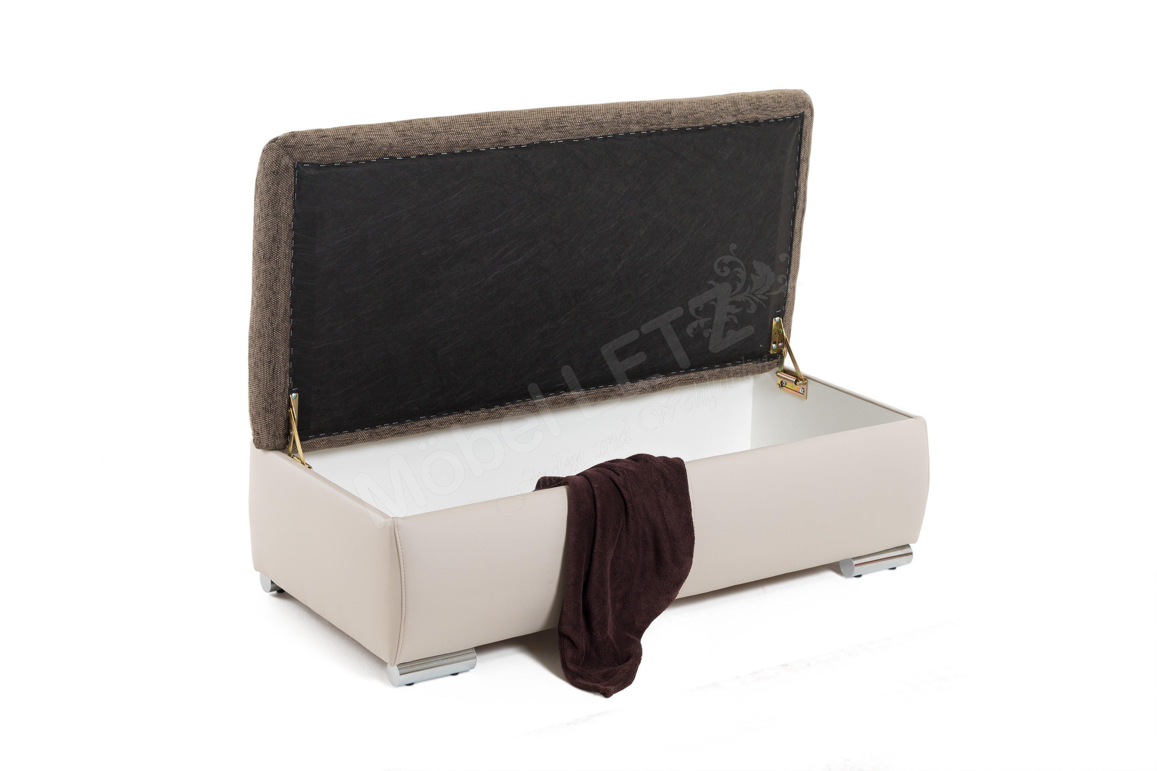 jockenh fer wohnlandschaft ferrara braun beige m bel letz ihr online shop. Black Bedroom Furniture Sets. Home Design Ideas