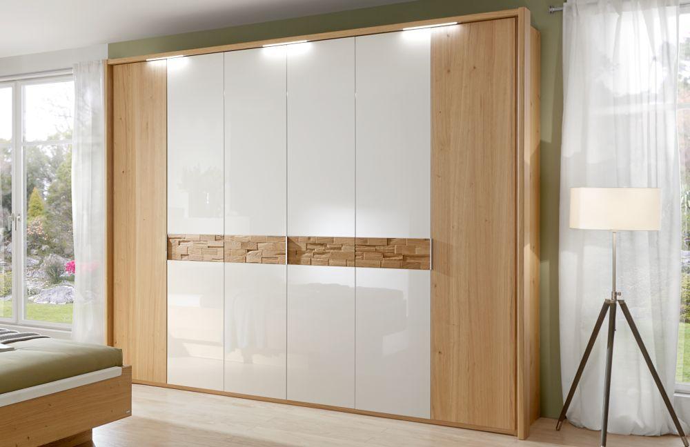 Schlafzimmer Cesan Hochglanz weiß von Disselkamp   Möbel Letz - Ihr ...