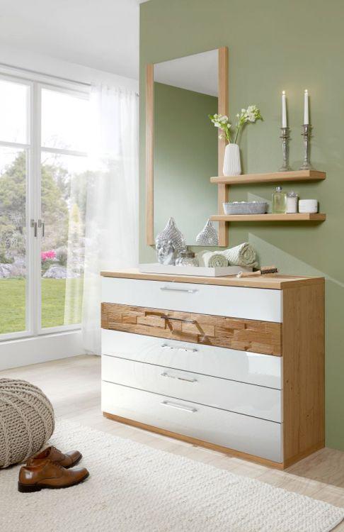 schlafzimmer cesan crema hochglanz von disselkamp m bel. Black Bedroom Furniture Sets. Home Design Ideas
