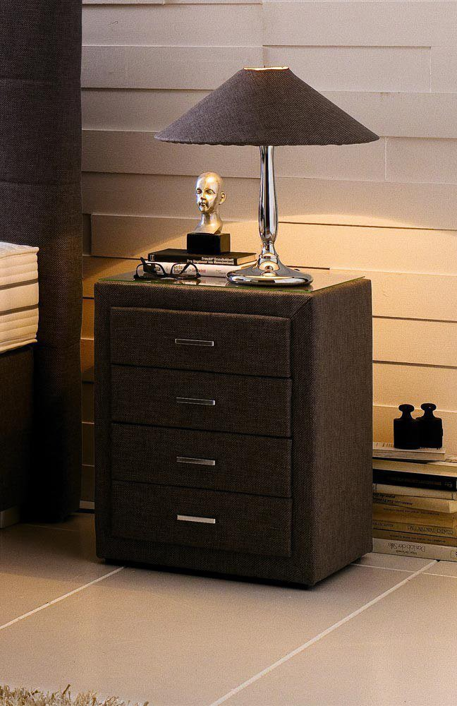 oschmann boxspringbett belcanto paris mit motor in braun. Black Bedroom Furniture Sets. Home Design Ideas