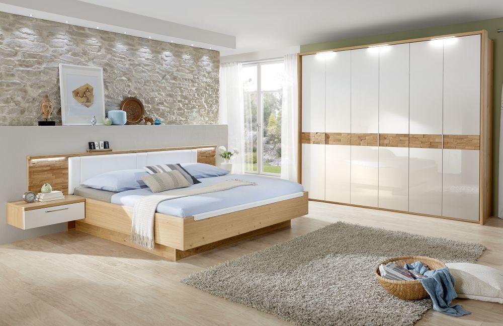 Disselkamp Schlafzimmer Cesan Wildeiche - weiß | Möbel Letz - Ihr ...