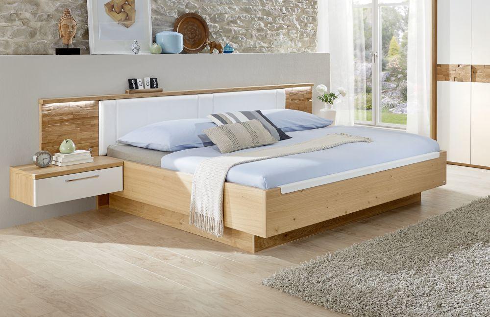 Cesan Von Disselkamp   Schlafzimmer Weiß Hochglanz/ Wildeiche