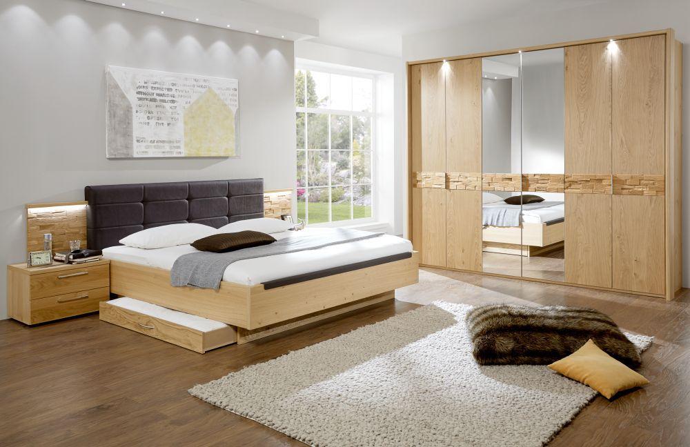 schlafzimmer cesan von disselkamp mit spaltholz akzenten m bel letz ihr online shop. Black Bedroom Furniture Sets. Home Design Ideas
