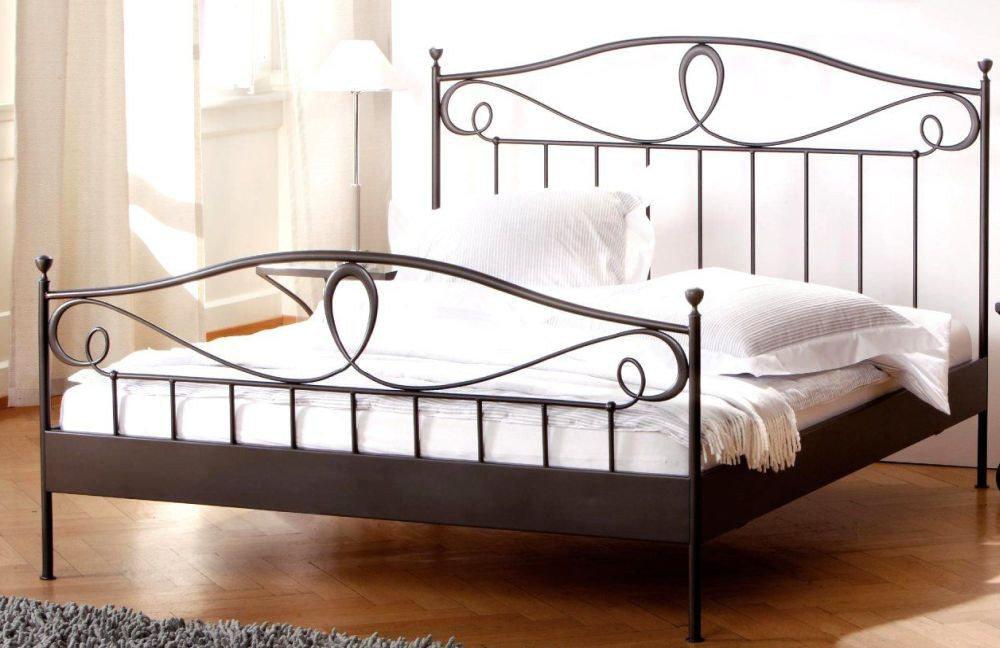 hasena romantic lurano bett eisen schwarz m bel letz ihr online shop. Black Bedroom Furniture Sets. Home Design Ideas