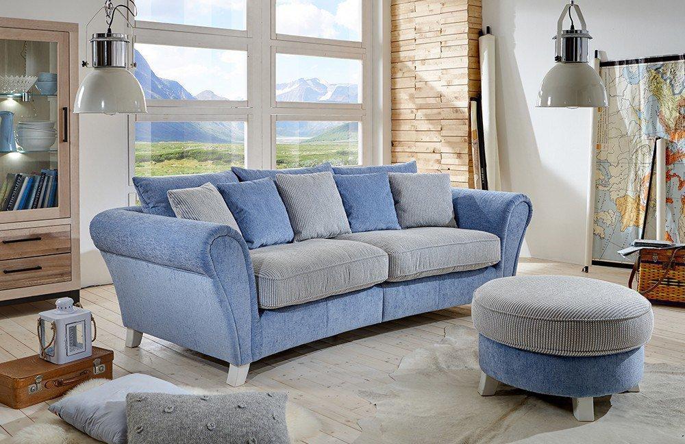 Sit more calia sofa hellblau m bel letz ihr online shop for Sofa hellblau