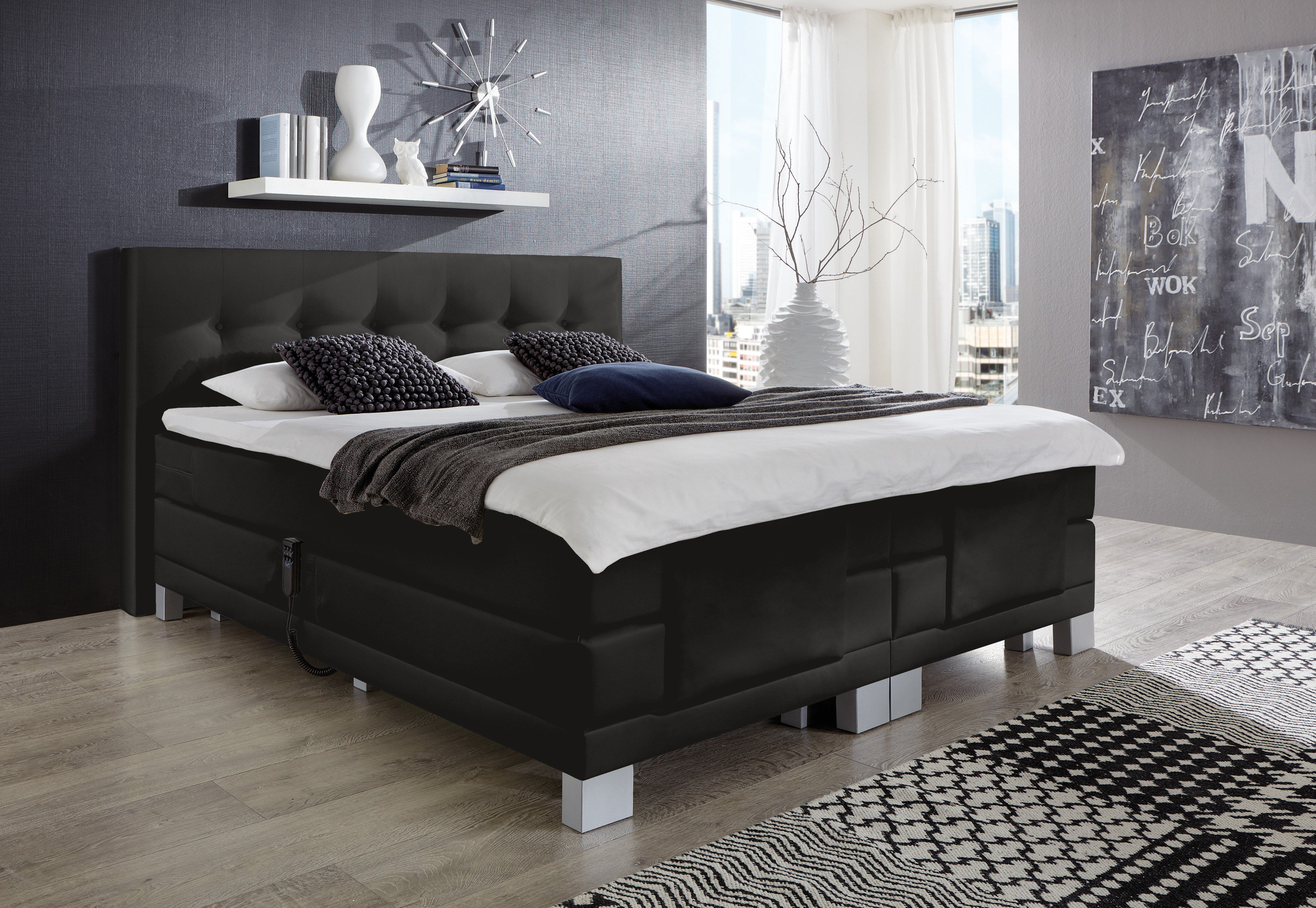 napco boxspringbett mit motor modell allround m bel letz ihr online shop. Black Bedroom Furniture Sets. Home Design Ideas