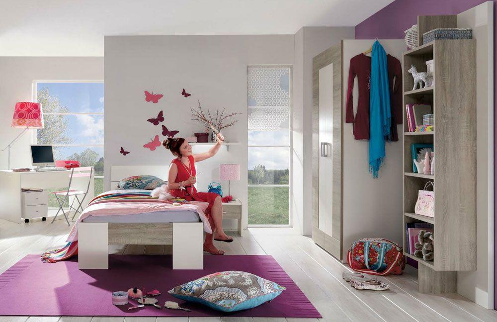 Jugendzimmer Mit Bett Und Schrank Vegas Plus Von Röhr Bush Möbel