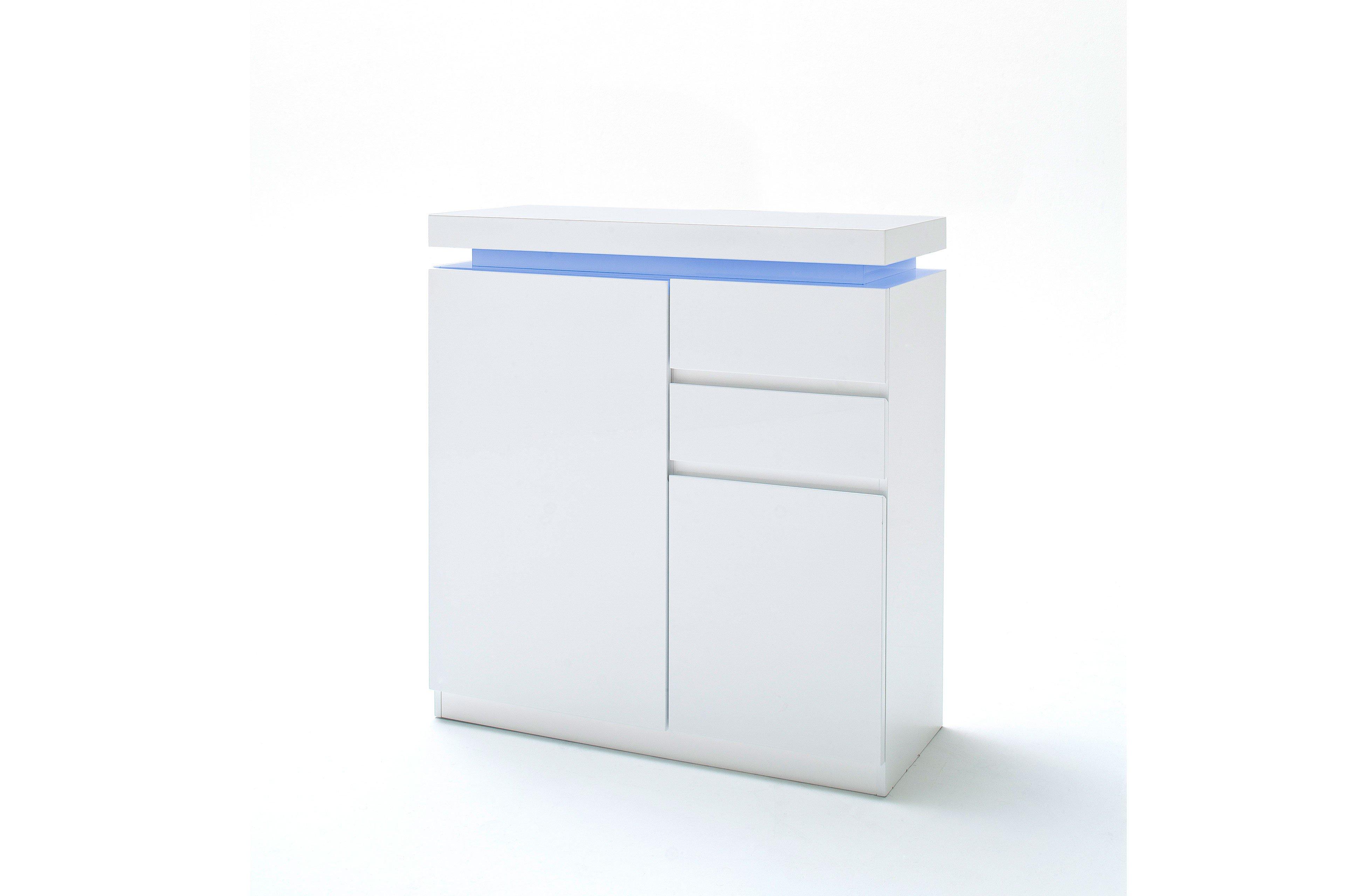 Favorit Garderobe Jarid Hochglanz Lack weiß - MCA furniture. Möbel Letz YG97