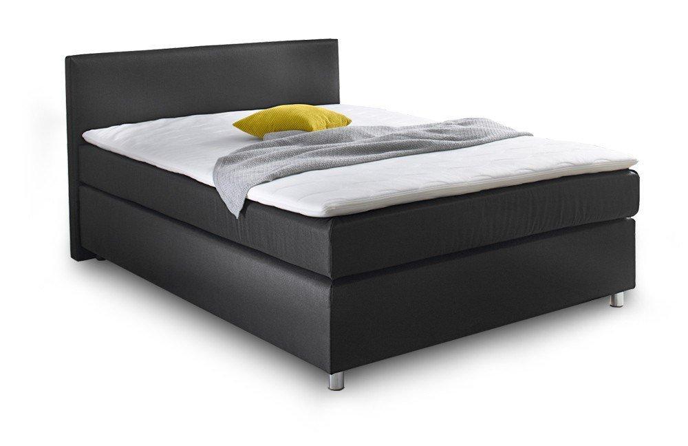 boxspringbett ascot callida von jockenh fer in schwarz m bel letz ihr online shop. Black Bedroom Furniture Sets. Home Design Ideas