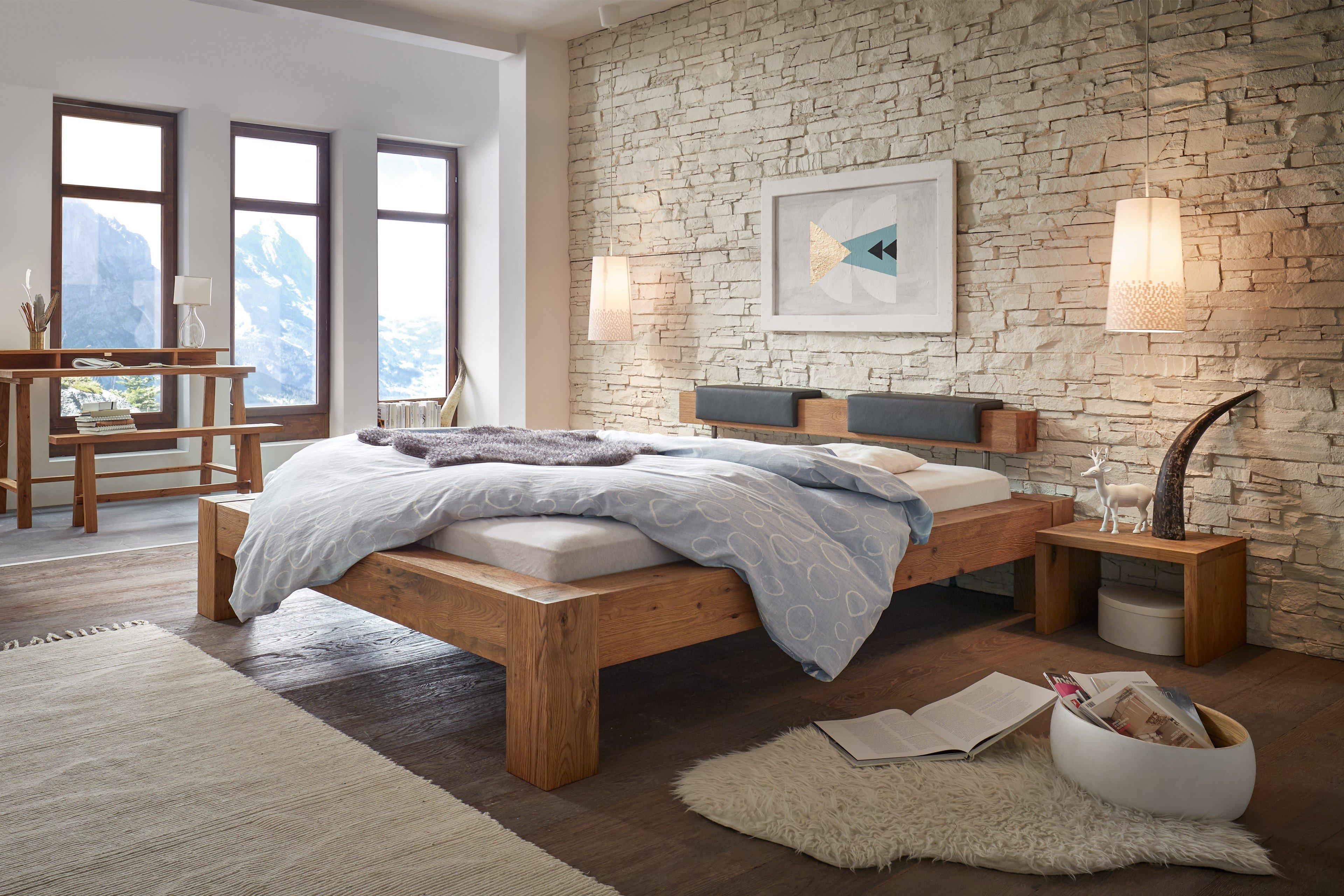 hasena oak wild bett cobo wildeiche natur m bel letz ihr online shop. Black Bedroom Furniture Sets. Home Design Ideas