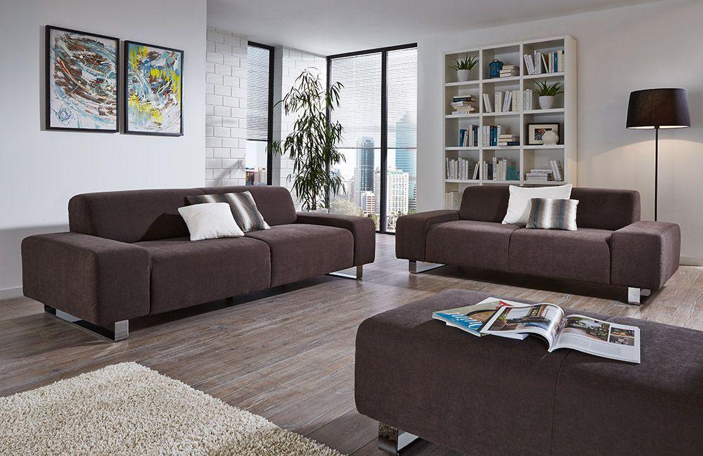 poco polstergarnitur cuba in braun m bel letz ihr. Black Bedroom Furniture Sets. Home Design Ideas