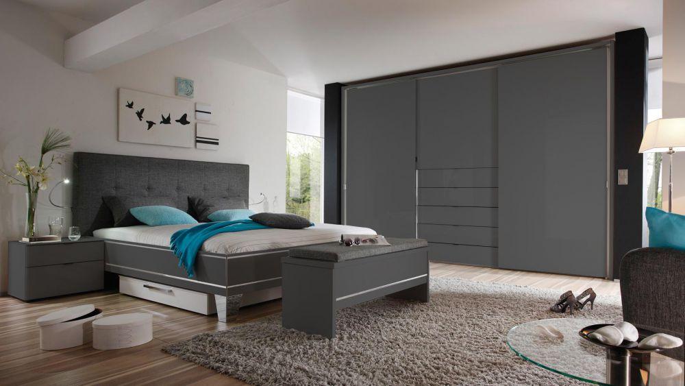 schlafzimmer anthrazit | möbelideen, Schlafzimmer ideen