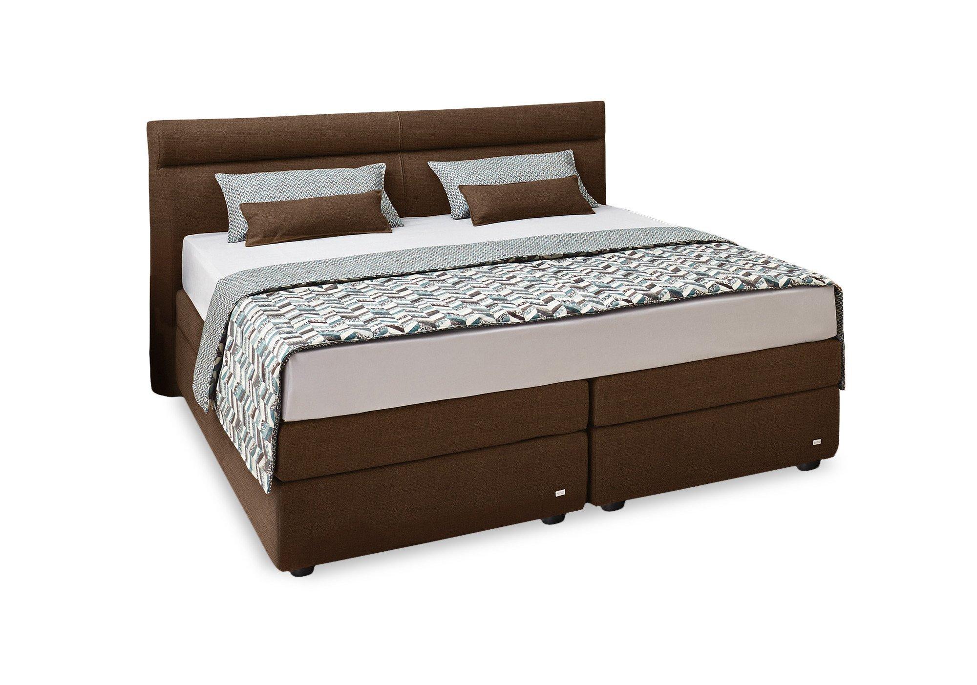 boxspringbett veronesse von ruf in braun m bel letz. Black Bedroom Furniture Sets. Home Design Ideas