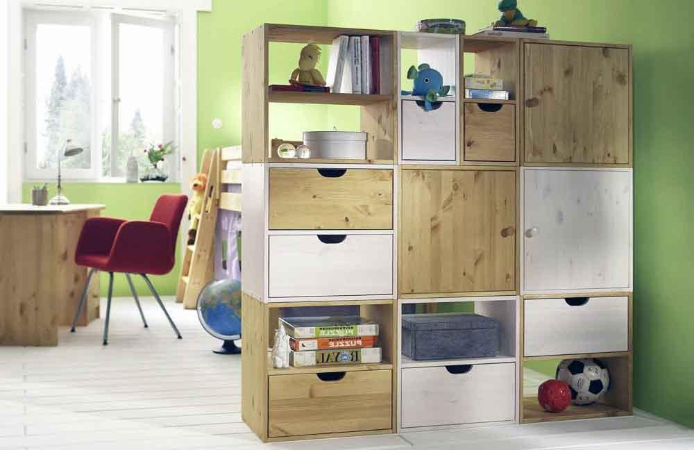 w rfelsystem raumteiler kiefer massiv pure natur m bel. Black Bedroom Furniture Sets. Home Design Ideas