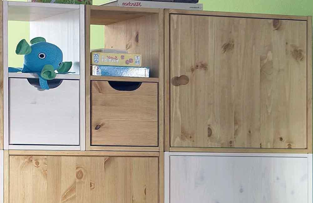 w rfelsystem raumteiler kiefer pure natur m bel letz. Black Bedroom Furniture Sets. Home Design Ideas