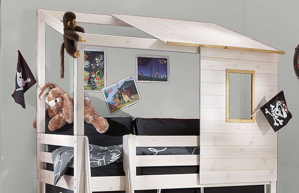 infanskids spielbett massivholz wei lauge m bel letz. Black Bedroom Furniture Sets. Home Design Ideas