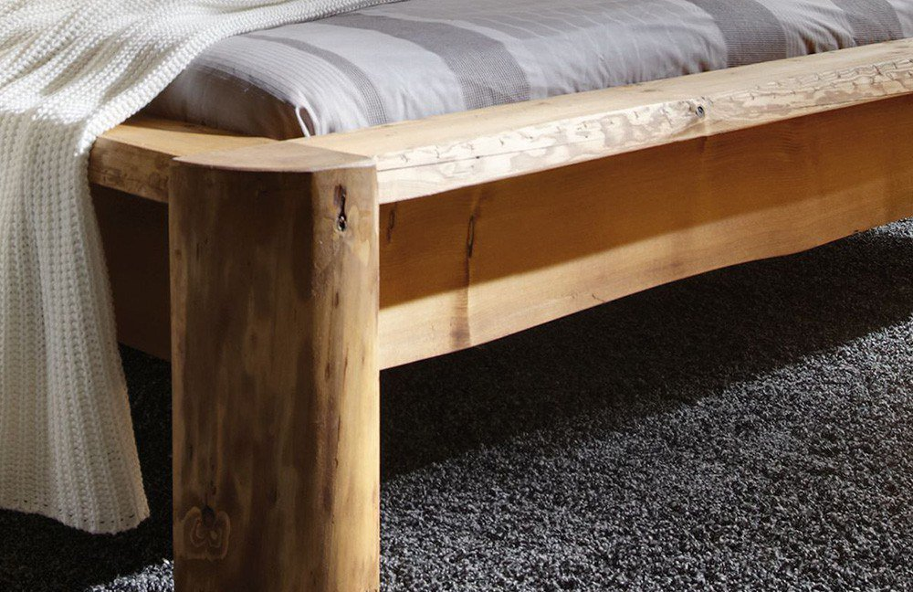 Pure Natur Bett Unikat Loke Kiefer Fichte Mobel Letz Ihr Online