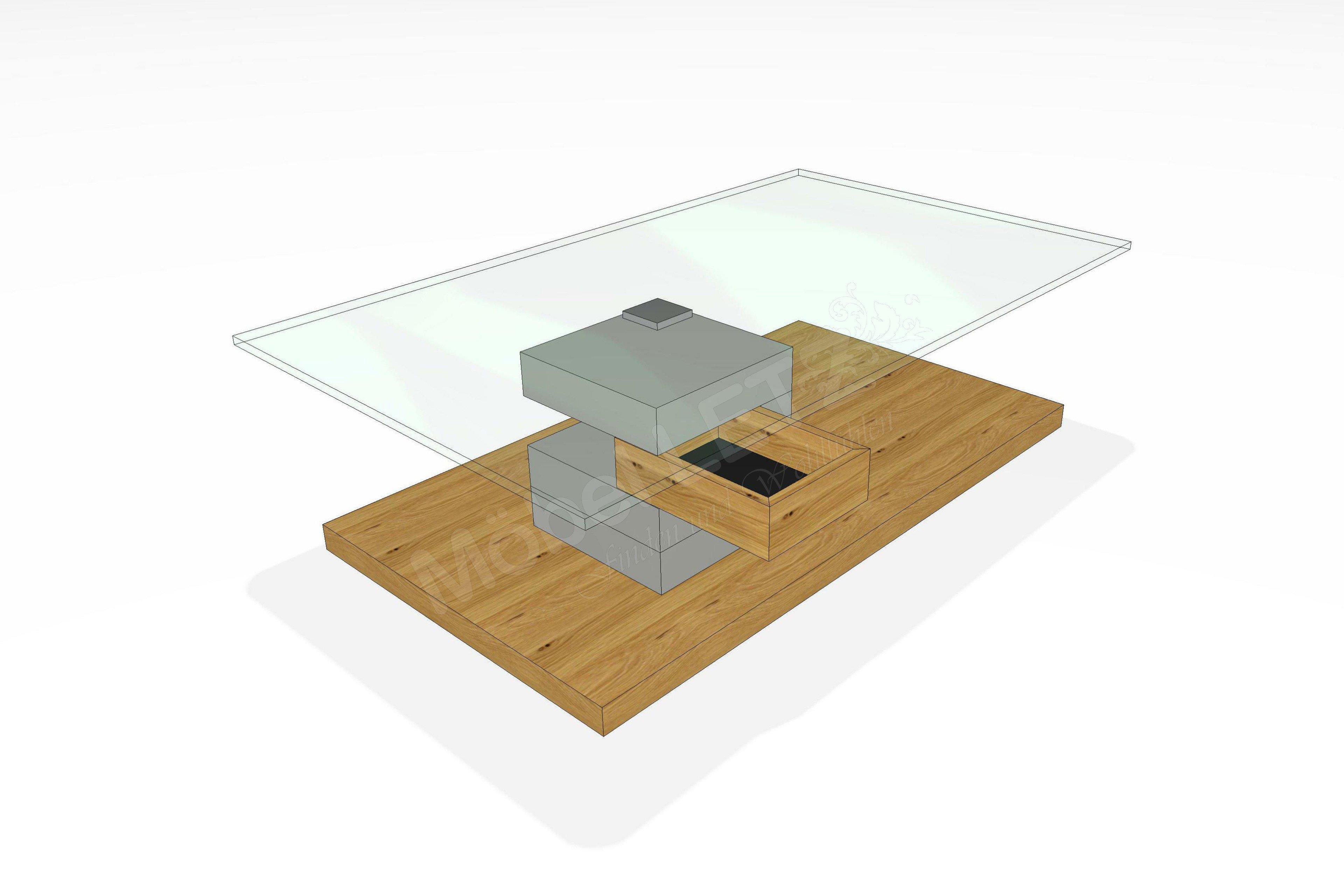 Gwinner Felino Couchtisch : Couchtisch von Gwinner Wohndesign  CT400 Gwinner Wohndesign