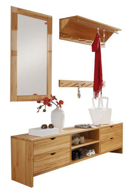 garderobe take it aus kernbuche massiv ge lt hkc. Black Bedroom Furniture Sets. Home Design Ideas