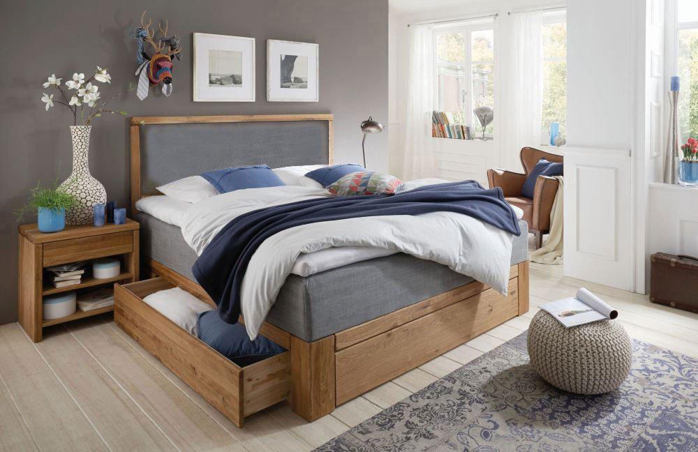 schlafzimmer eiche massiv gebraucht. Black Bedroom Furniture Sets. Home Design Ideas