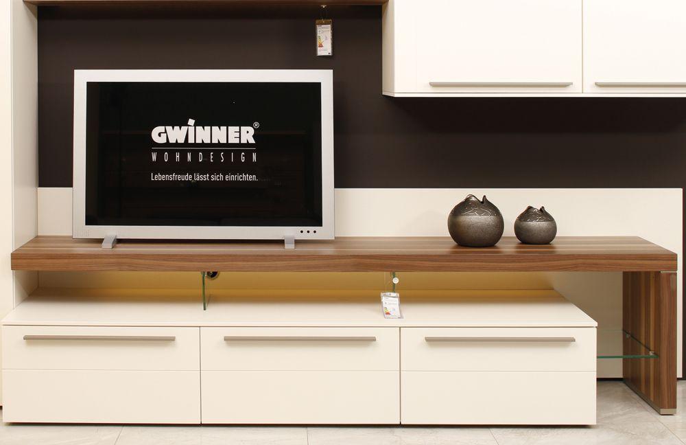 Gwinner Wohnwand Abverkauf : Wohnwand Bellano BE01 von Gwinner Wohndesign M?bel Letz  Ihr Online
