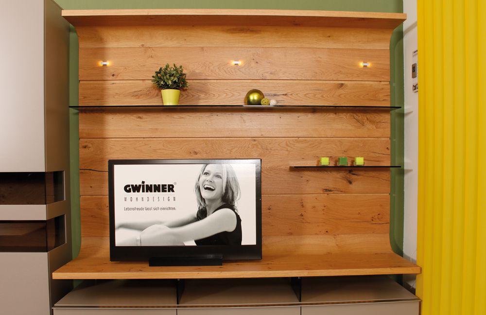 Gwinner Felino Couchtisch : Abverkauf Wohnwand von Gwinner Wohndesign  Modell Felino Greta