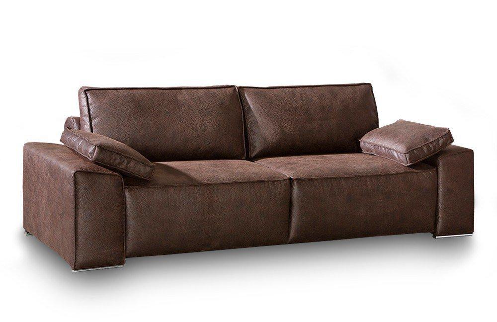 restyl sheila schlafsofa braun mit bettkasten m bel letz. Black Bedroom Furniture Sets. Home Design Ideas