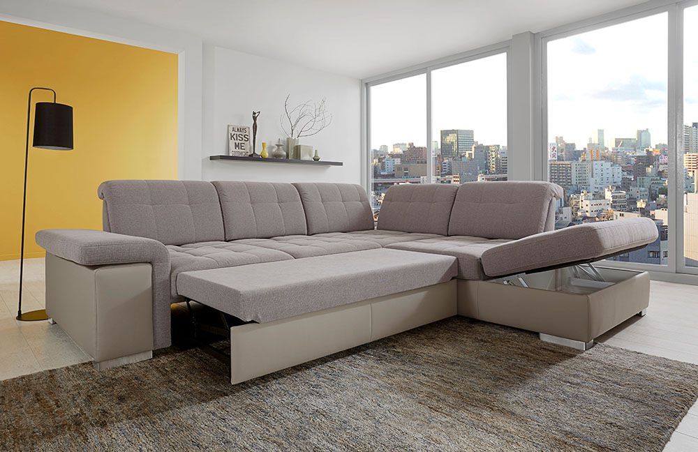 ecksofa san marino braun von poco m bel letz ihr online shop. Black Bedroom Furniture Sets. Home Design Ideas