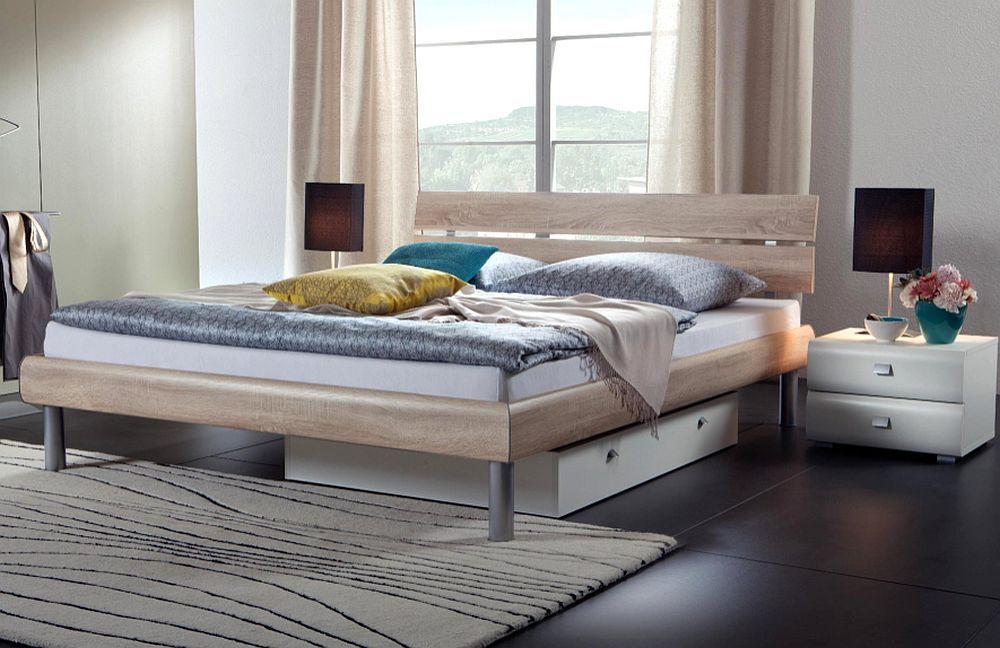 Soft-Line von Hasena - Bett Soko Eiche sägerauh natur. Möbel Letz ...
